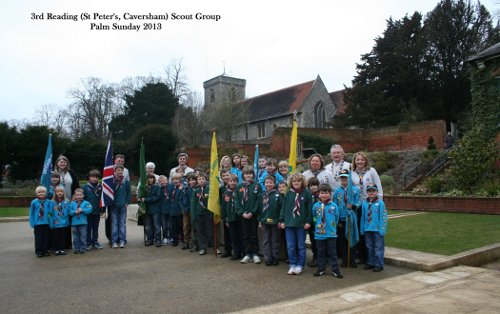 Scouts Palm Sunday 2013