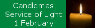 Candlemas 'Service of Light' at St Peters, 1 February