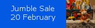 Jumble Sale next to St Johns church, 20 February