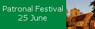 Patronal Festival at St Peters, 25 June