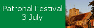Patronal Festival at St Peters, 3 July