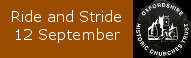 Ride and Stride, 13 September